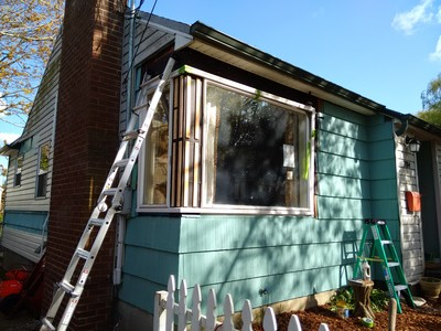 Siding And Window Restoration Of Our 1950 House